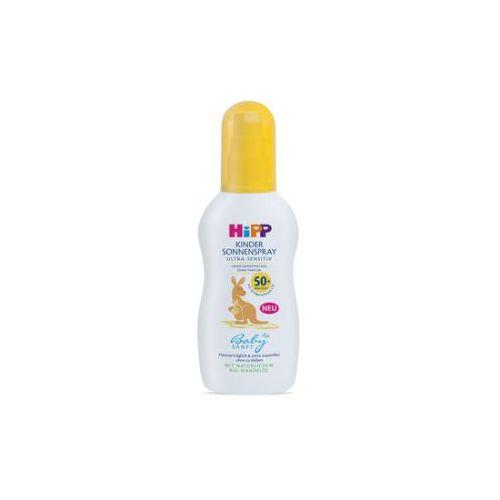 HiPP Babysanft Спреј за заштита од сонце за деца, SPF50