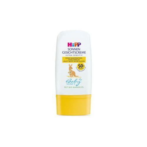 HiPP Babysanft Крем за лице за заштита од сонце, SPF50