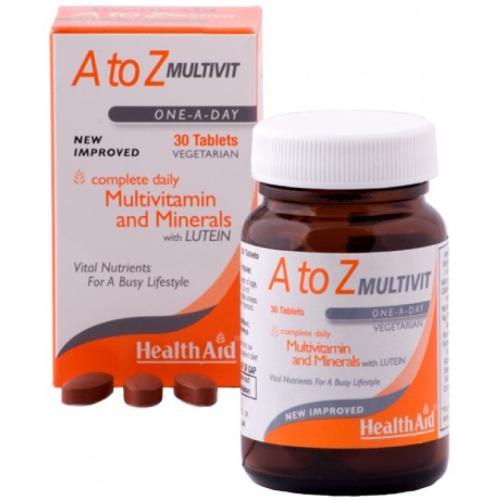 Health Aid A-Z Multivitamins / Health Aid А-З Мултивитамини