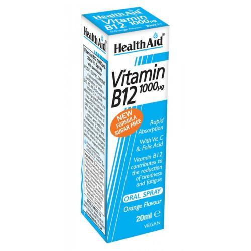 Health Aid Vitamin B12 spray / Health Aid Витамин Б12 спреј