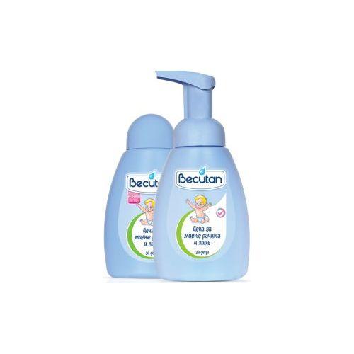 Becutan пена за миење рачиња и лице 250ml