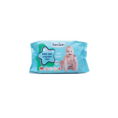 Becutan влажни тоалетни марамчиња од биоразградлива хартија 48/1