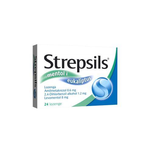 Strepsils mentol / Стрепсилс ментол