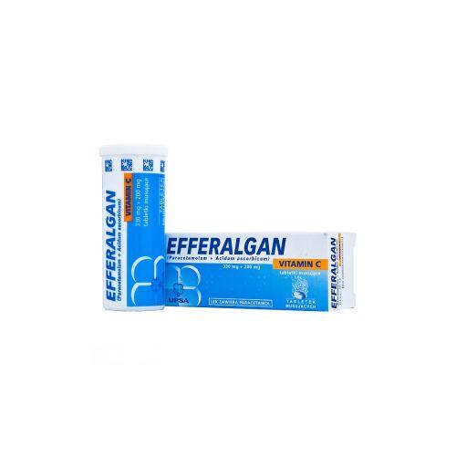 Efferalgan with vitamin C