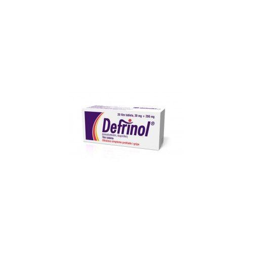 Defrinol tableti / Дефринол таблети