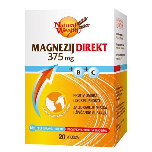 Natural Wealth Magnesium + B + C / Natural Wealth Магнезиум +Б + Ц