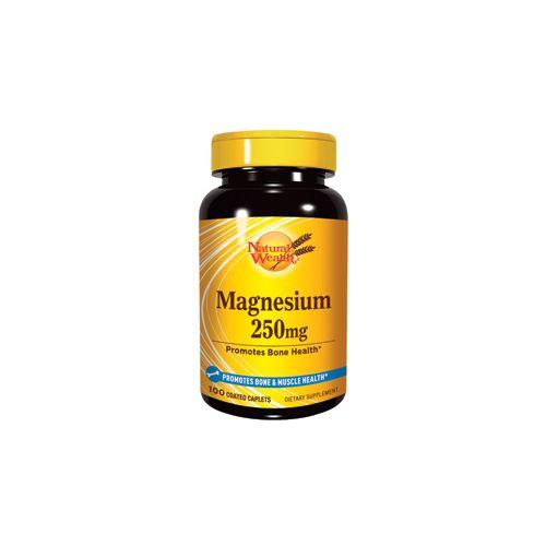 NaturalWealth Magnesium 250mg